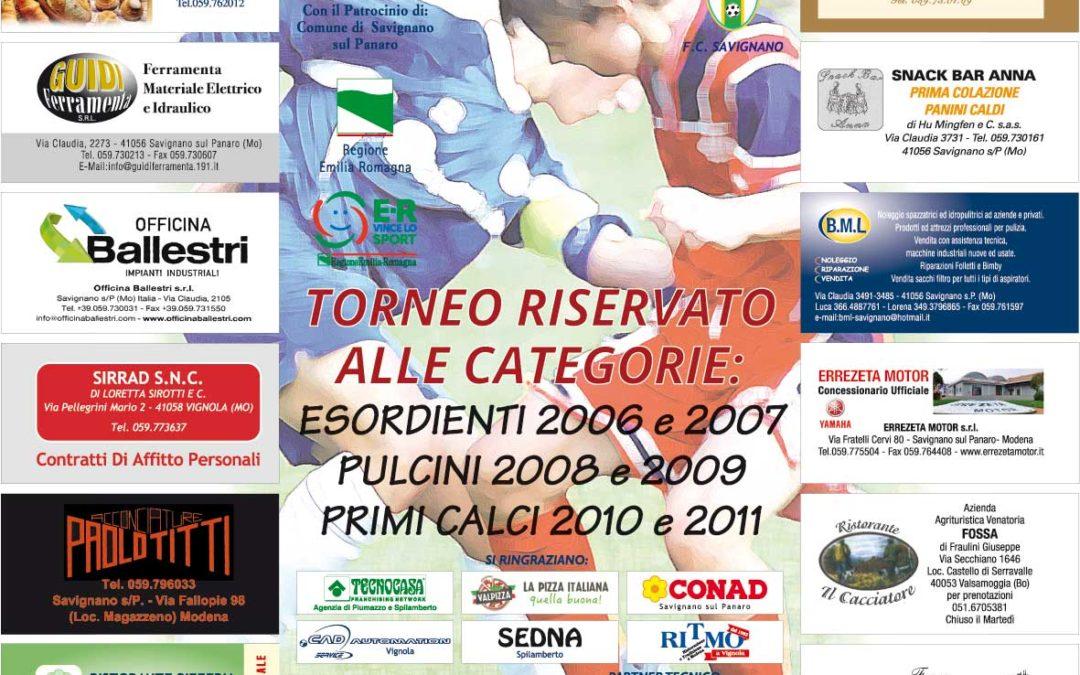 XI TORNEO CITTA' DI SAVIGNANO
